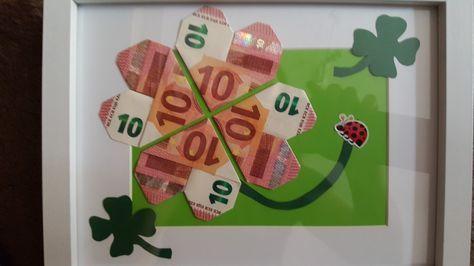 Geldgeschenk Einfach Gestaltet Geldgeschenke Geschenke Geld Und