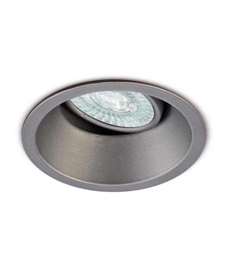 Ojo De Buey 9 6 Cm O Plata Comfort Gu10 La Casa De La Lampara Ojo De Buey Iluminacion Led
