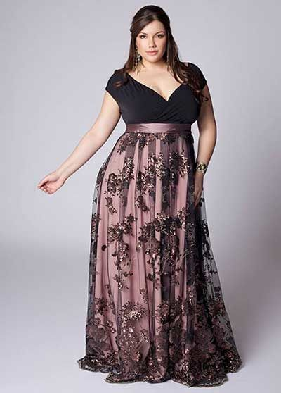 Plus Size Evening Skirts