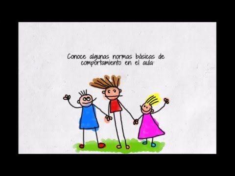 normas básicas de comportamiento en clase | Vídeos educativos ...