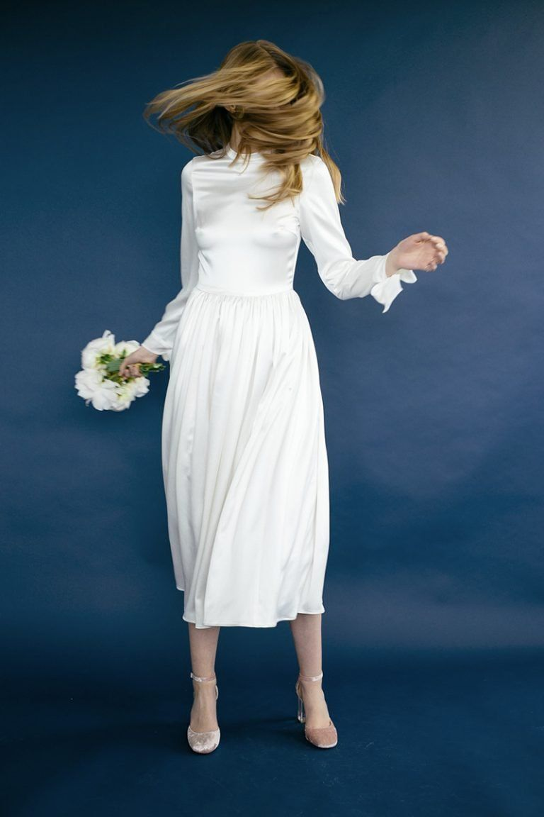Best wedding dresses for registry office  Brautkleider von Lilly Ingenhoven  Wedding dress  Pinterest