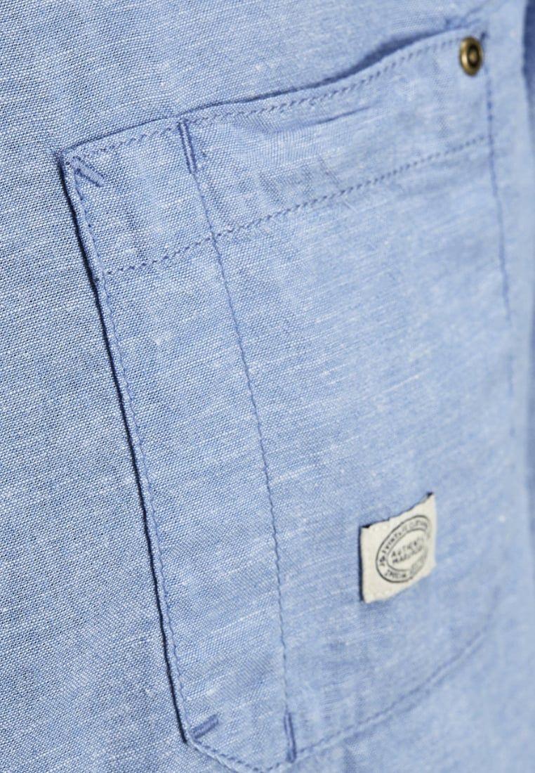 Slim Fit Denim Overhemd.Overhemden Jack Jones Jjchambray Slim Fit Casual Overhemd