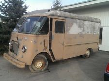 1957 Chevy Stepvan Step Van Milk Bread Truck Ice Cream Vintage Rat Rod