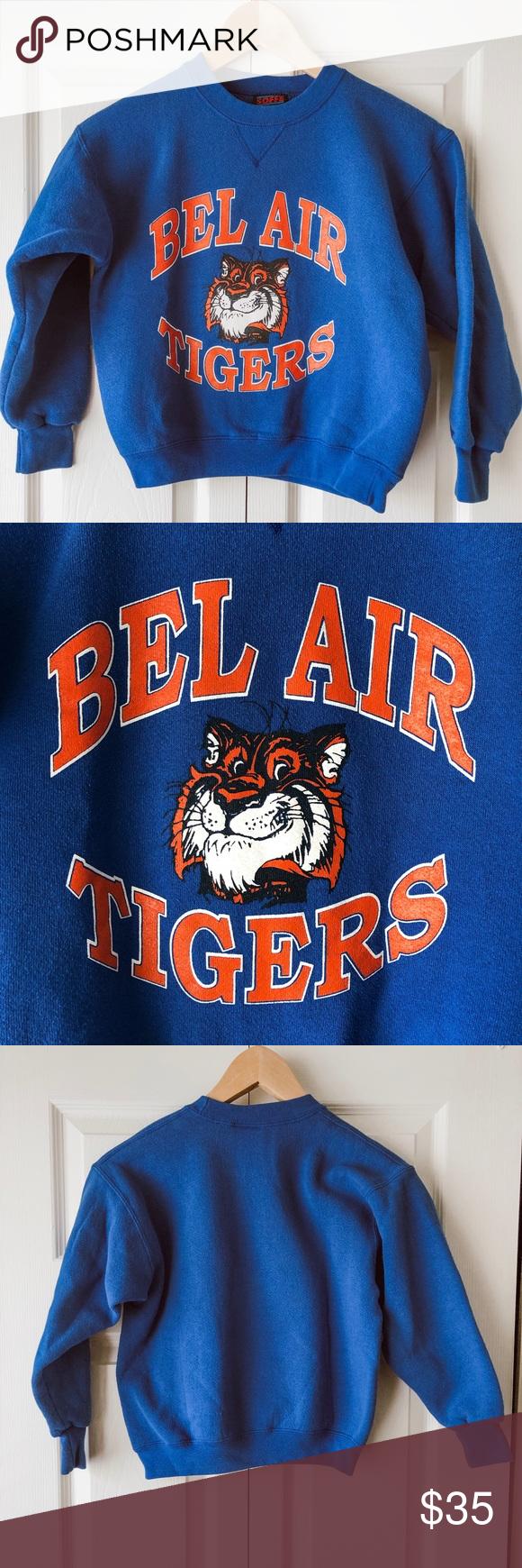 Vintage Soffe Bel Air Tigers Children's Sweatshirt