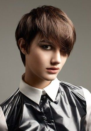 Modern Short Boyish Hairstyles For Women