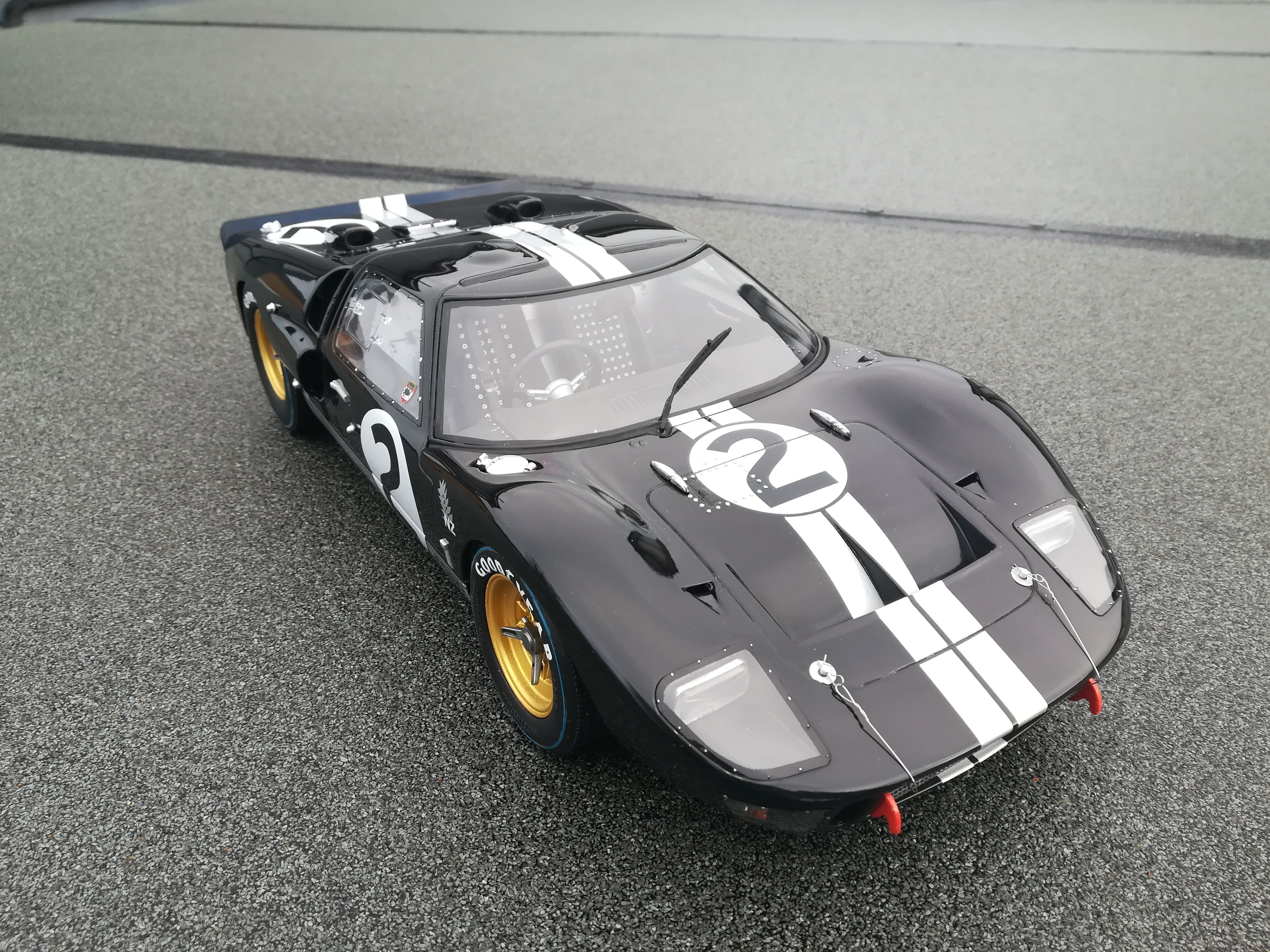 1 12 Trumpeter Ford Gt40 Commission Build