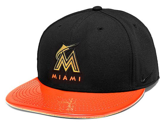 Miami Marlins Bright Lights Snapback Cap by NIKE x MLB  6026452de43