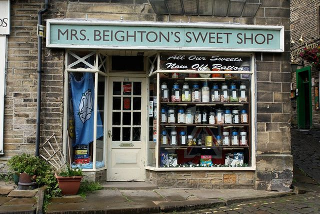 Mrs Beightons Sweet Shop by RoseyMacDoo, via Flickr