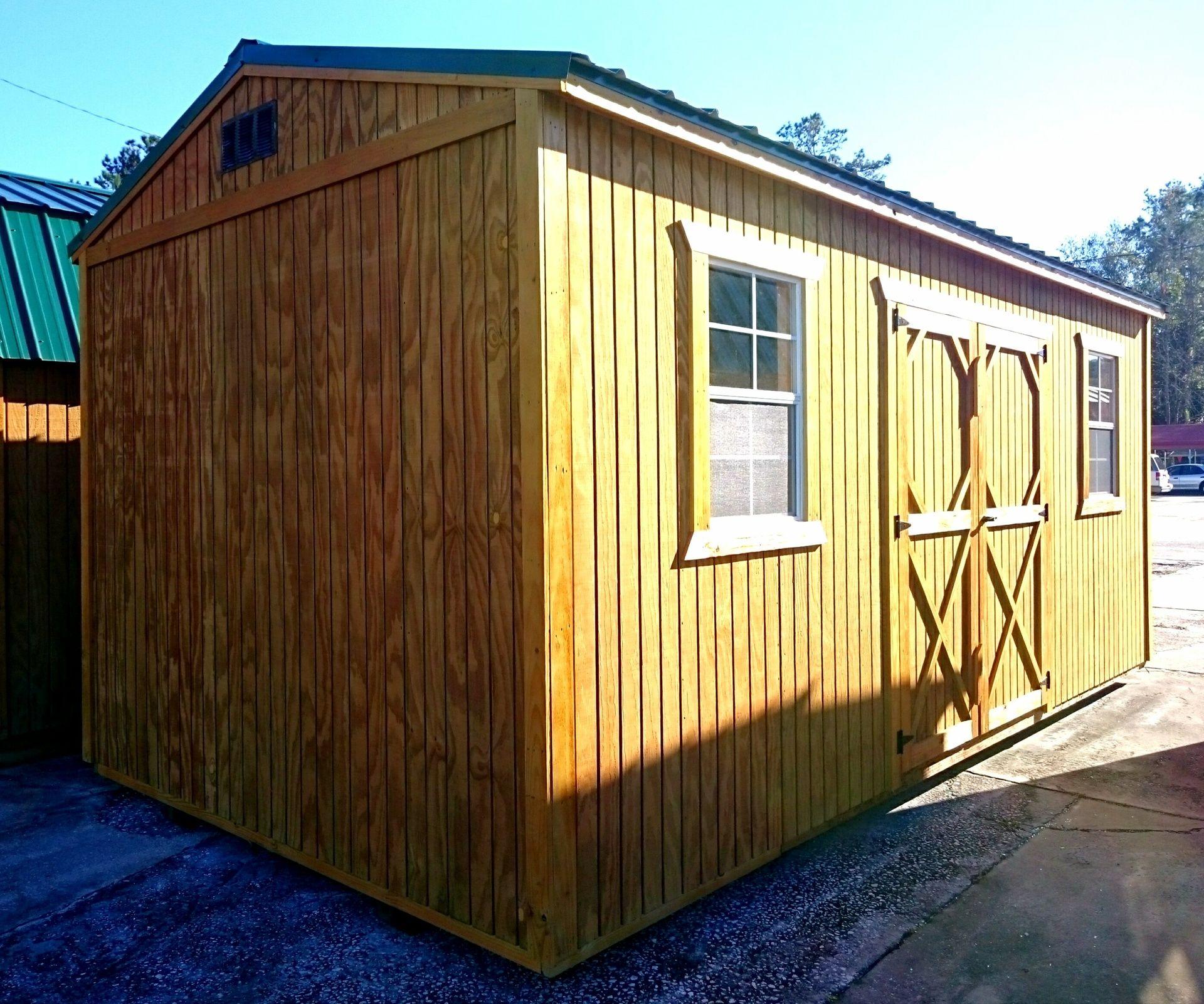 Weather King Portable Buildings U0026 Sheds