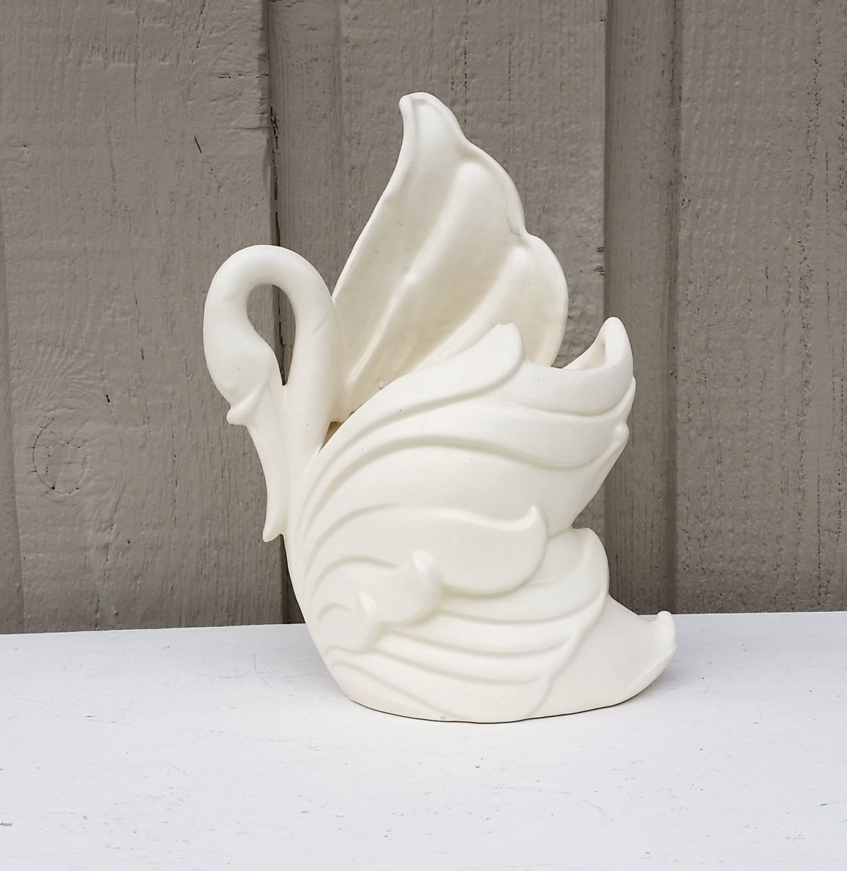 So graceful a vintage haeger pottery swan vase planter by a vintage haeger pottery swan vase planter by naturegirl22 on etsy reviewsmspy
