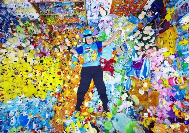 worlds largest pokémon collection