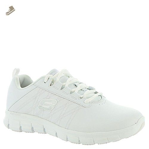 80aec17edcfd8 Skechers Work Relaxed Fit Sure Track Erath SR Womens Sneakers White 8.5 - Skechers  sneakers for women (*Amazon Partner-Link)