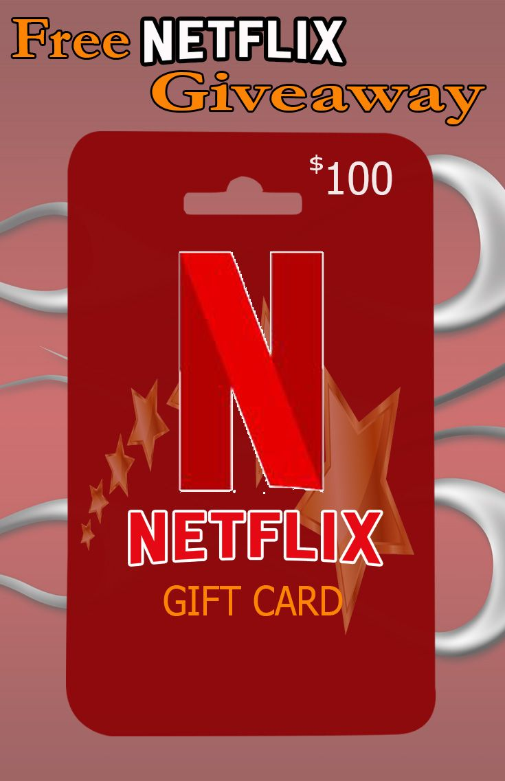 Photo of Get free $100 Netflix gift card giveaway!