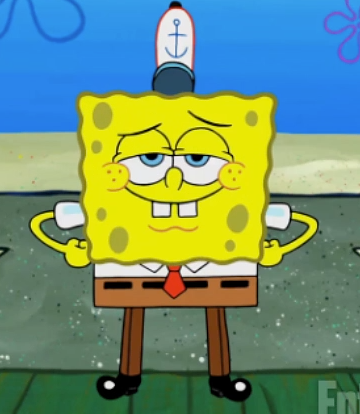 Spongebob Is Wearing Full Length Pants For The First Time Spongebob Squarepants The Movie Spongebob Spongebob Squarepants