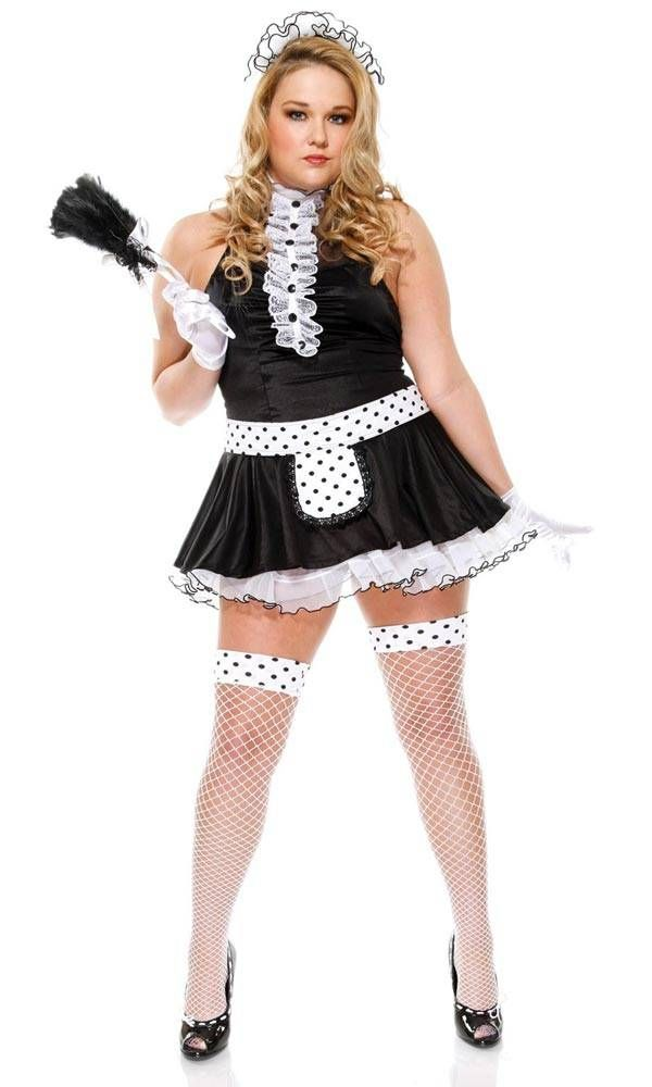 Sexy Maid - Plus Size Halloween Costumes for Women | Plus Size ...