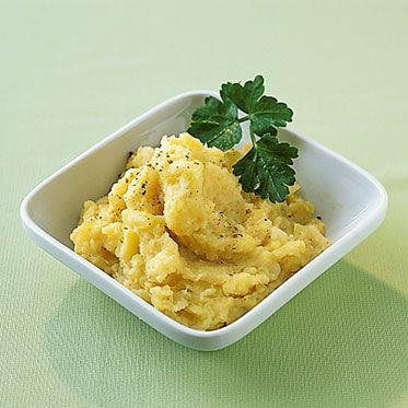 Mildes Kartoffel-Sellerie-Püree