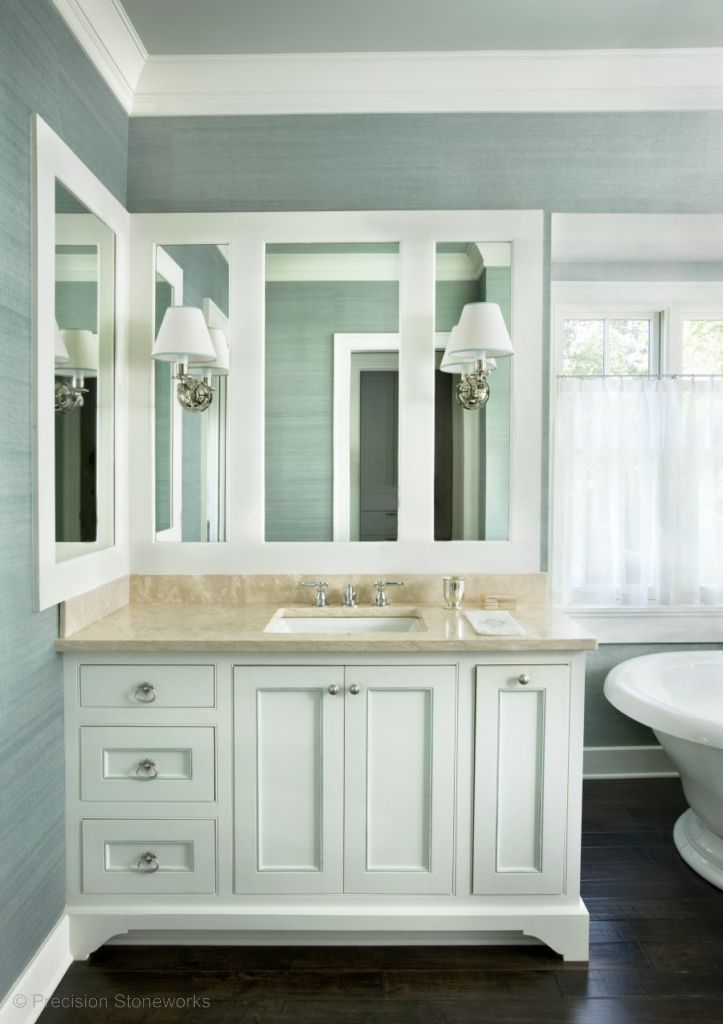 Elegant Bathroom Designs with White Cabinets