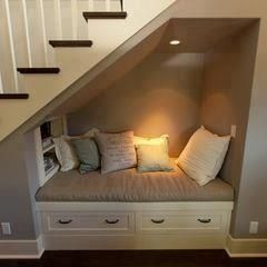 Read a book under your stairs