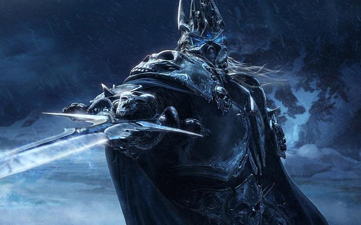 Dota 2 Wallpaper Warcraft Lich King Sword Armor Look Smoke Physical Structure Hd Wallpaper Wallpaper Free Download Hd Wallpaper Wallpaper