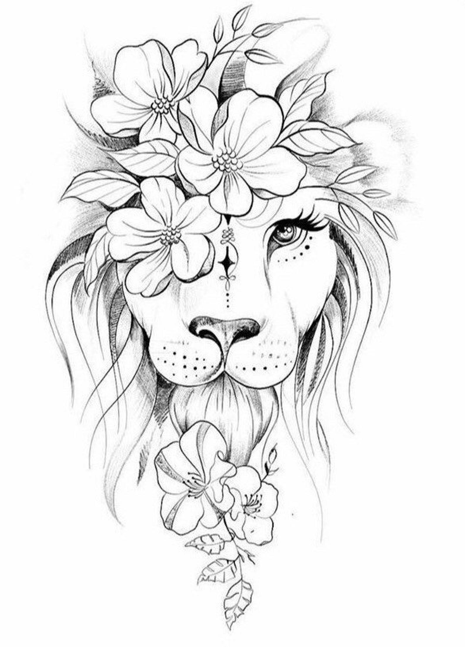 Lion tattoos - Inspiration Life Tattoo - Love Tatt