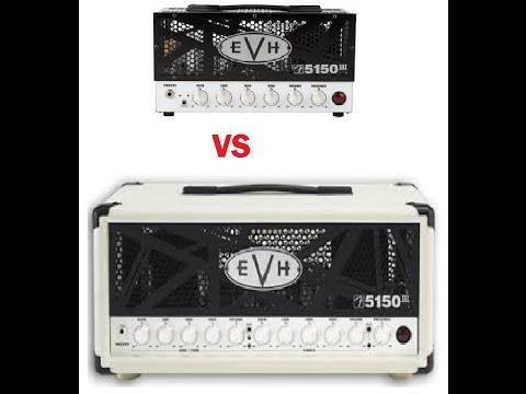 EVH 5150III LBX mini amp vs Peavey 6505 Mini amp - YouTube