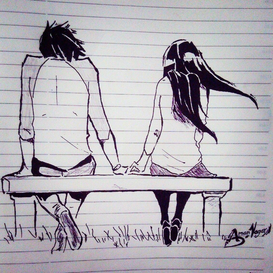 Romantic sketch love couple sketch cute sketch cute love sketch aman nagar sketch aman nagar sketch artist amannagarartist