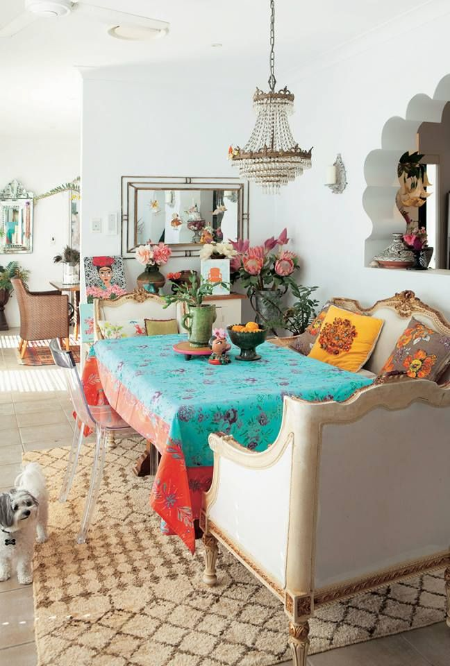 love the light for over the dining table boho dining room boho style interior funky home decor on boho chic kitchen table decor id=96188