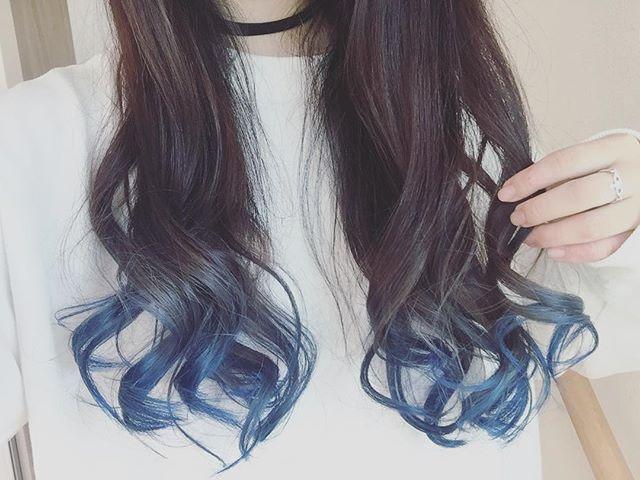 Websta 25hii25 髪色変えました グラデーションカラー