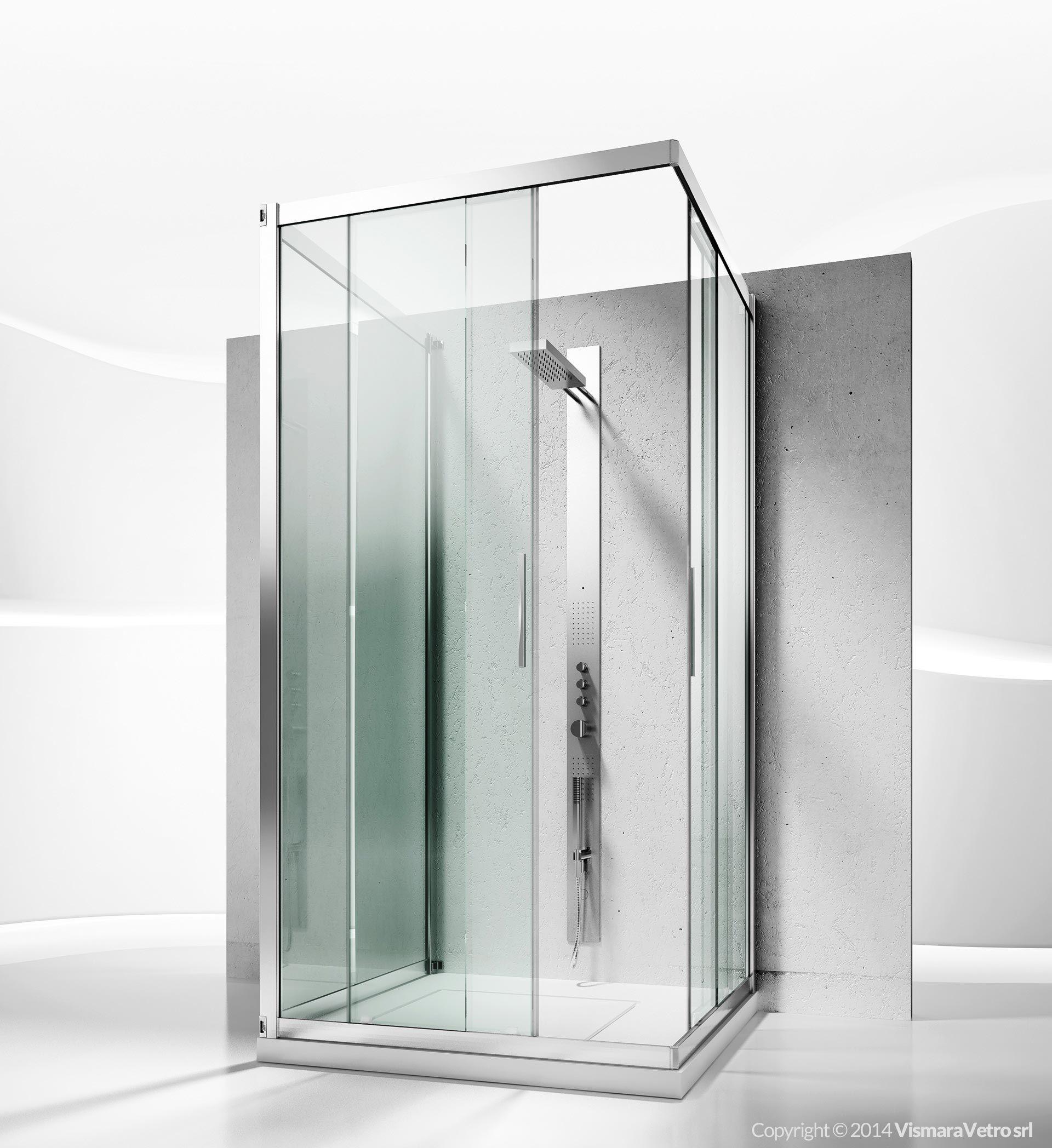 6200 6300 6000 Series Shower Enclosures Models Sliding Door Bagno