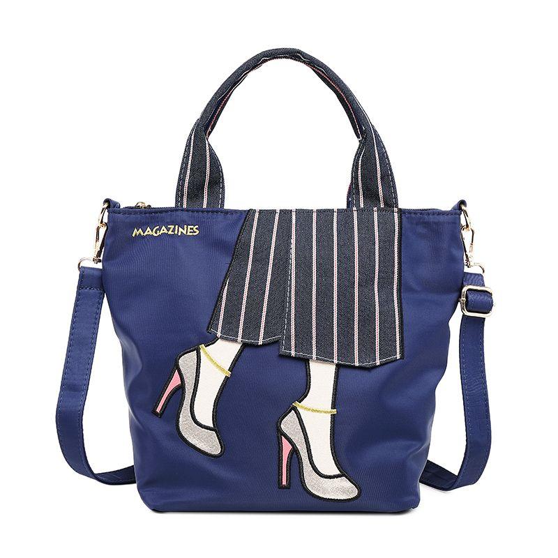 Free shipping Shoulder Totes Fashion Oxford Zipper Convertible Bags