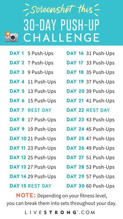 Build Upper Body Strength With LIVESTRONG.com's Push-Up Challenge - Estella K. #fitnesschallenges