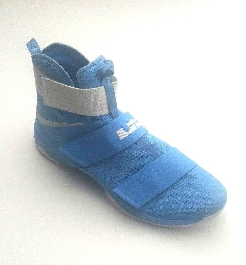 94ce869fdc5a Nike Men 856489-443 LeBron Soldier 10 TB Shoes University Blue White Size  18  Nike  BasketballShoes