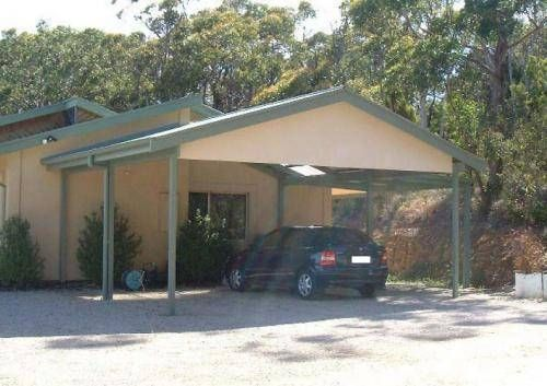 How To Build A Gable Roof Carport House With Porch Building A