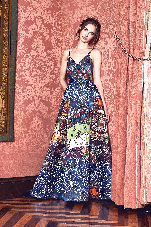 Alice + Olivia Fall 2017 Ready-to-Wear Fashion Show | Vestidos ...
