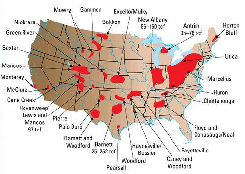 Oil Fields By Territory Oil Fields Oil Gas Shale Gas Us Map - Us-oil-fields-map