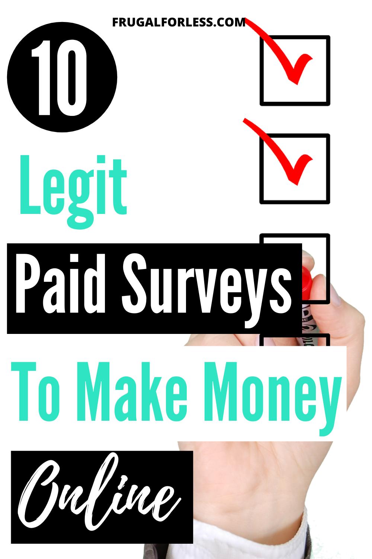 53 Best Survey Sites In 2020 In 2020 Money Making Surveys How