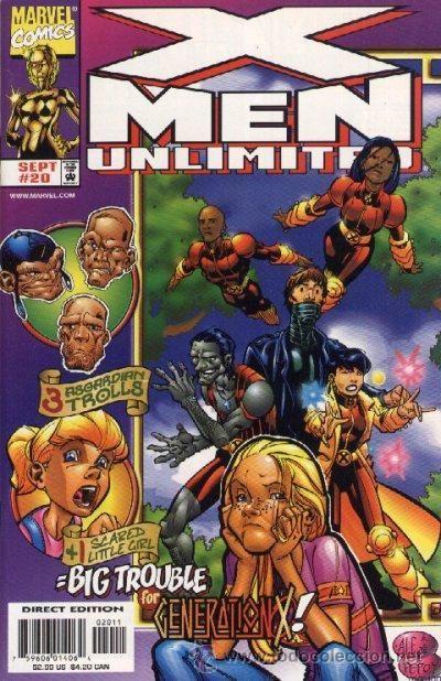 X Men Unlimited Marvel Comics Covers X Men Marvel