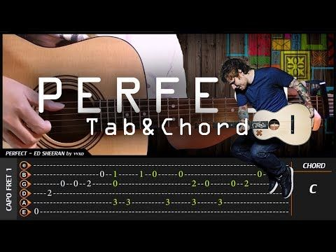 Ed Sheeran - PERFECT - Cover (Fingerstyle Cover) + TAB Tutorial ...