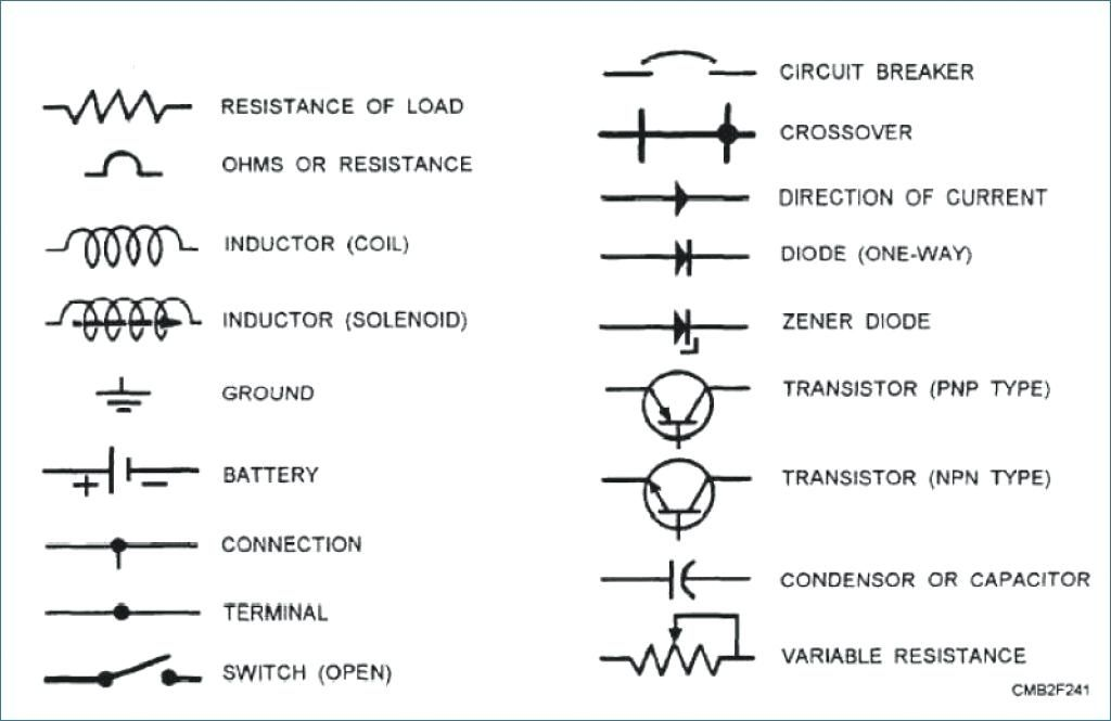 Image Of Wiring Diagram Symbols For Car Auto Wiring Diagram Symbols  Michaelhannan Co Rh Michaelhann… | Electrical symbols, Electrical schematic  symbols, ElectricityPinterest