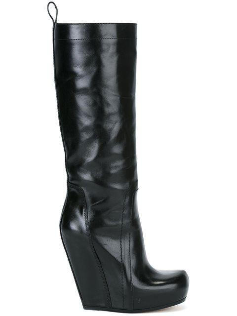 designer wedge boots