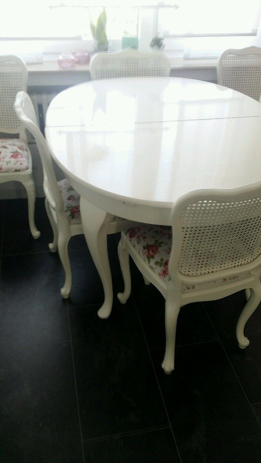 Chippendale esstisch und 6 stühle in Möbel & Wohnen, Möbel, Tisch ...