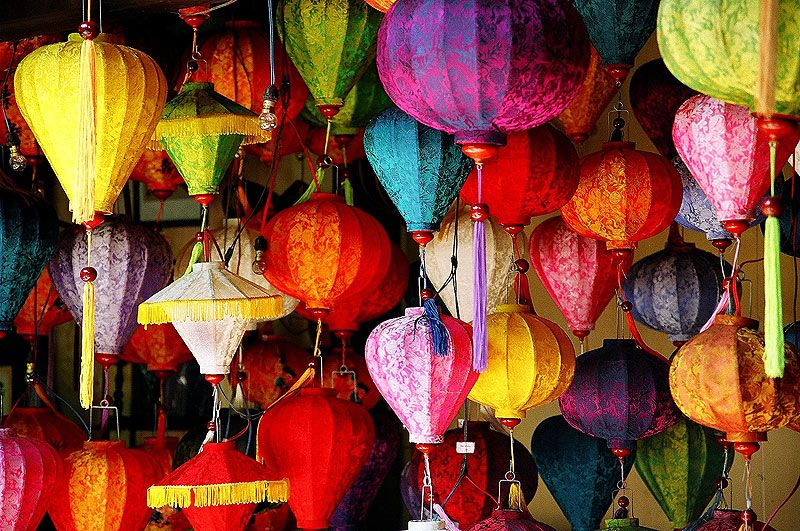 Lanterns A Photo From Quang Nam South Central Coast Trekearth Bunt Laterne Kunst