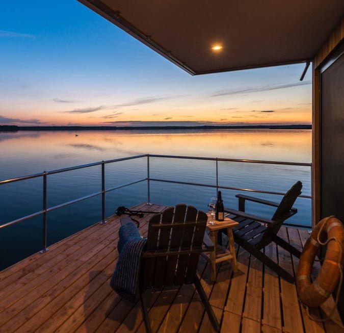 Hausboot La Péniche Ostsee ferienhaus, Strandhäuser