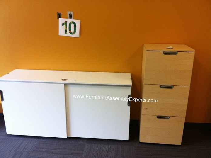 ikea galant file cabinet assembled in northern virginia by furniture assembly experts call 202
