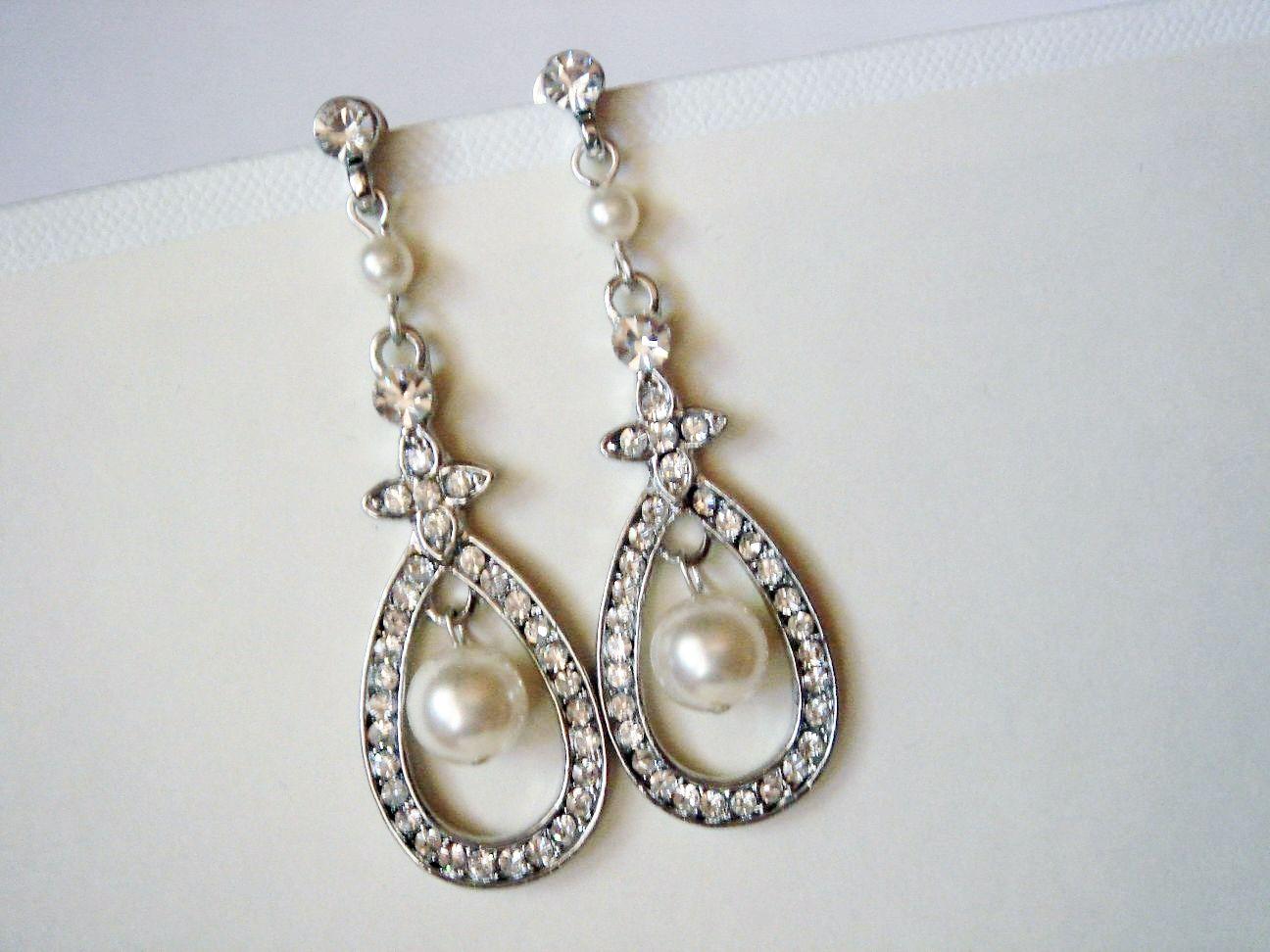12+ Pearl wedding earrings uk ideas