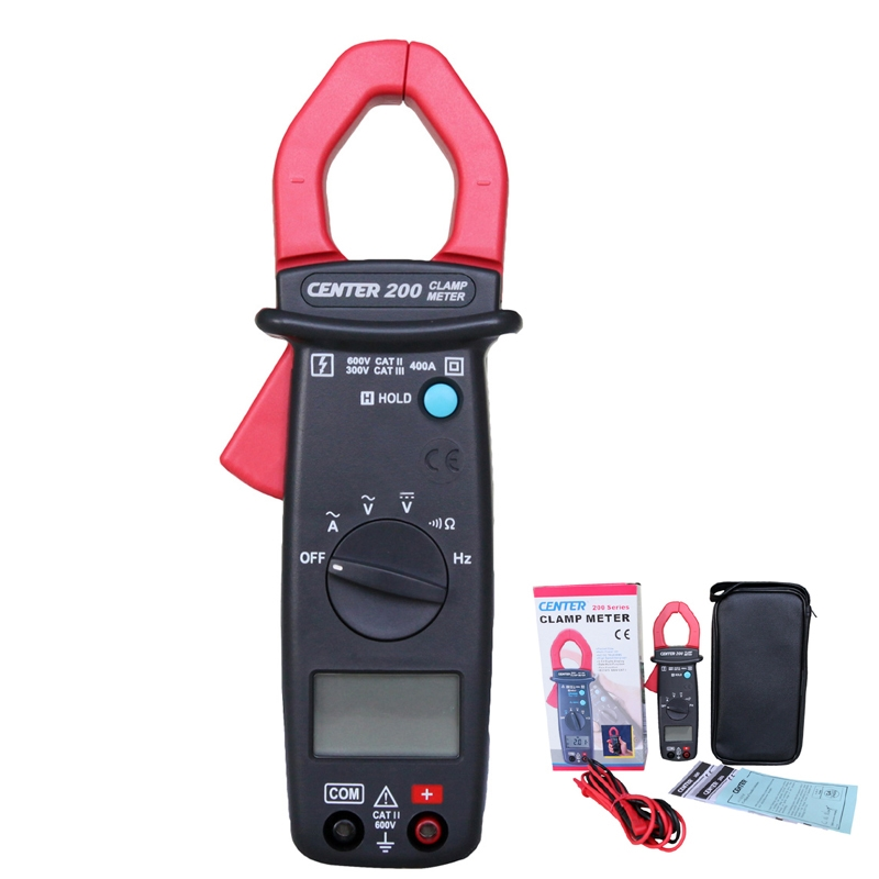 86.48$  Buy here - http://alicjn.worldwells.pw/go.php?t=32579038545 - CENTER-200 Pocket size Digital Mini Clamp Meter with Data Hold Function 86.48$
