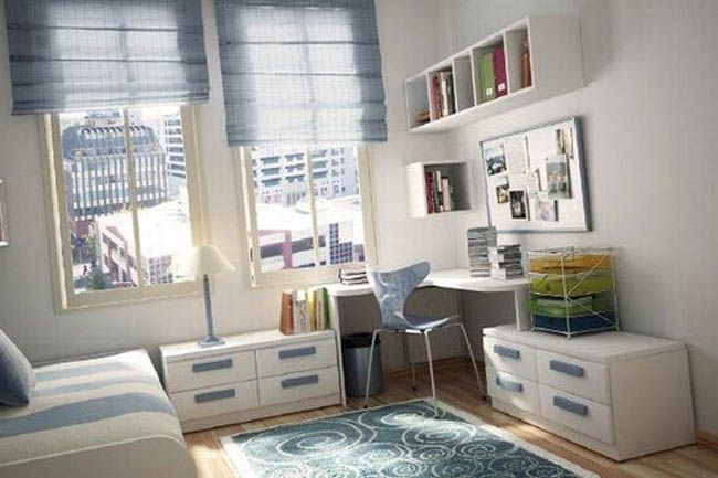 Bedroom design ideas for collage students best interior for Bedroom ideas student