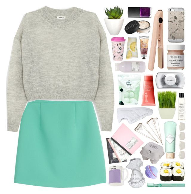 """""""yeah-bunny 12"""" by deep-breaths ❤ liked on Polyvore featuring Pomax, McQ by Alexander McQueen, Acne Studios, Me! Bath, Rodial, adidas Originals, MAC Cosmetics, NARS Cosmetics, philosophy and Maison Margiela"""