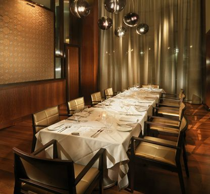 restaurant: private dining at luce in san francisco | private