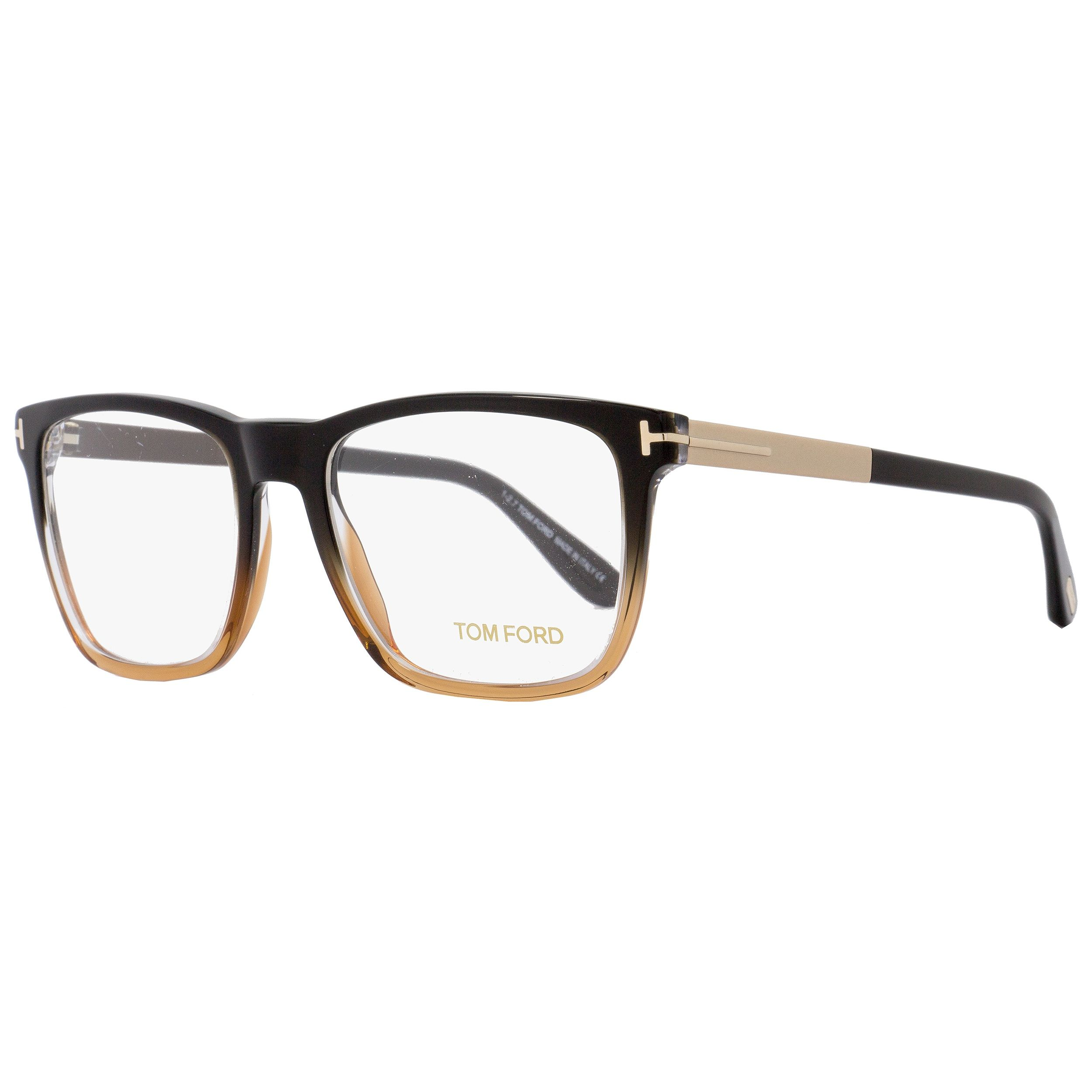 1c866f23cb29 Tom Ford TF5351 050 Unisex Black Brown Gold 54 mm Eyeglasses in 2019 ...